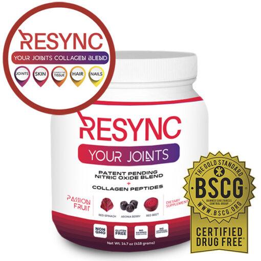 resync collagen blend bottle