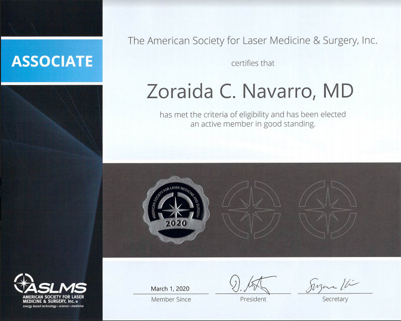 aslms certification document