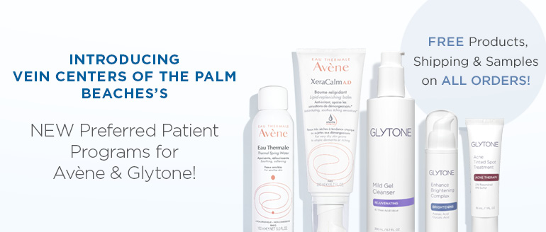avene and glyton product images